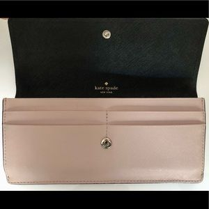 Kate Spade Authentic Purse/wallet Pink and Black
